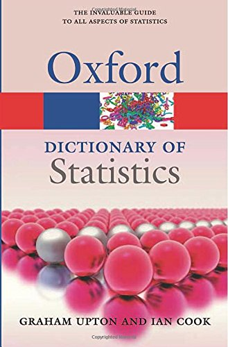 A Dictionary Of Statistics 3e  Oxford Paperback Reference