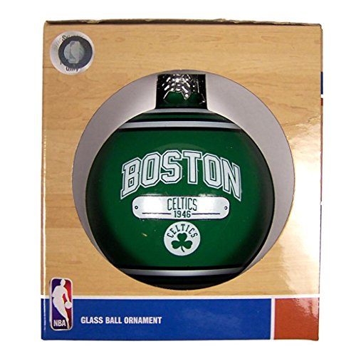 Boston Celtics Official NBA 2014 Year Plaque Christmas Ball Ornament by Forever Collectibles