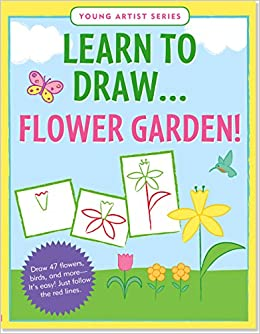 Learn To Draw Flower Garden Easy StepbyStep Drawing Guide