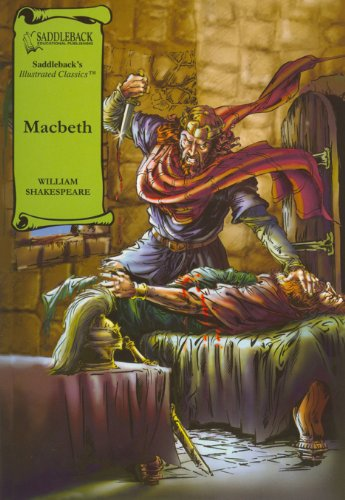 Macbeth- Graphic Shakespeare-Read Along (Saddleback's Illustrated Classics)