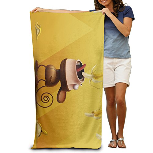 Barrel Of Monkeys Adult Costumes (Come Of Age Supple Cartoon Monkey Eat Banana Turkish Towels)