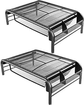 Amazon.com: Soporte para monitor de metal de malla, monitor ...