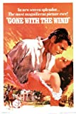 GONE WITH THE WIND CLASSIC 24 x 36 in. POSTER Poster Print, 24x36 Movie Poster Print, 24x36