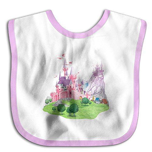 Pink Castle Boy Baby Bib Wipes Funny Thanksgiving Day Gift Babies Toddler Saliva Towel Drool Bibs