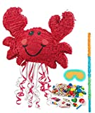 BirthdayExpress Nautical Party Supplies - Crab Pinata Kit