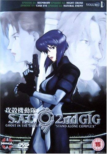 Ghost In The Shell - Stand Alone Complex - 2nd Gig - Vol. 1 Reino Unido DVD: Amazon.es: Ghost in the Shell: Stand Alone Complex: Cine y Series TV