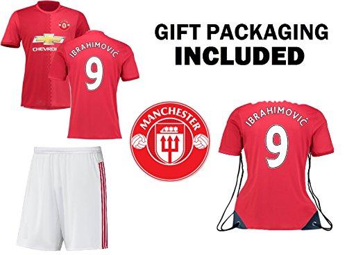 promo code 8d70d ff947 JerzeHero Zlatan Ibrahimovic #9 Kids Youth 3 in 1 Soccer ...