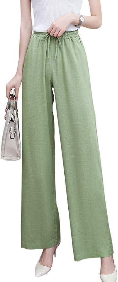 HOT Fashion Womens  Loose Pants Long Casual Comfy Drawstring Trousers