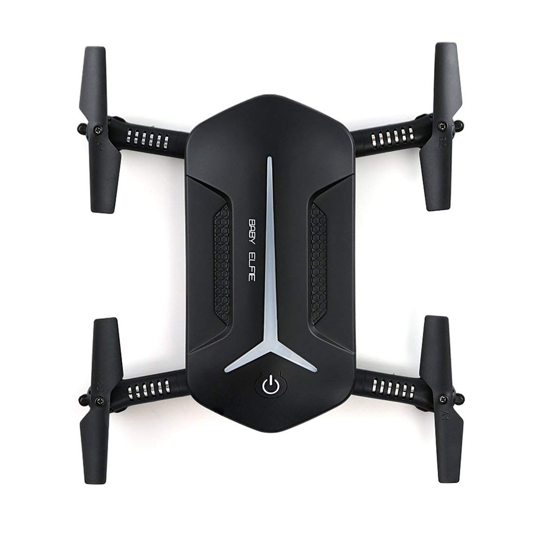 ToGames-ES JJR/C H37 Mini Drone 2.4G Wi-Fi FPV RC Quadcopter with 2 Battery Altitude Hold