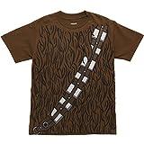 Star Wars I am Chewbacca Costume Adult Brown T-Shirt (Medium)