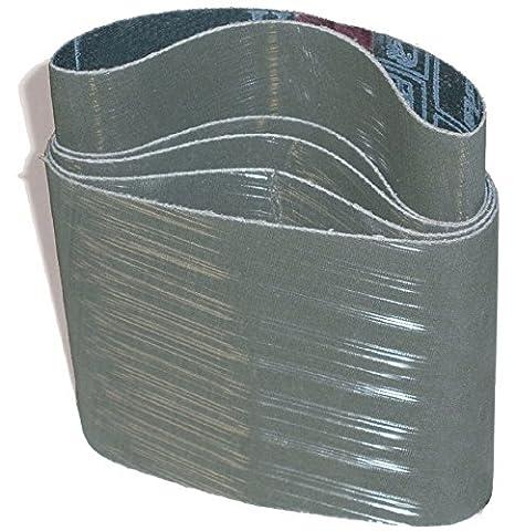 Pack of 10 CS Unitec 42216 PTX TZ Pyramid Sleeve 3-1//2 Diameter x 4 Wide, A16//1200 Grit