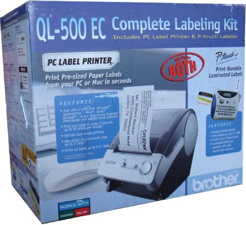 Brother QL 500 EC Complete Labeling