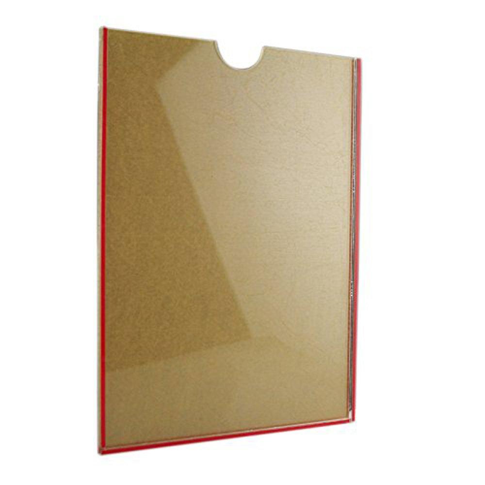 Wandhalterung A4 Acryl Clear Schild Halter, Werbung Display Poster ...