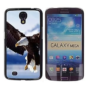 TECHCASE**Cubierta de la caja de protección la piel dura para el ** Samsung Galaxy Mega 6.3 I9200 SGH-i527 ** Eagle America Patriotic Alaska Bald Wings