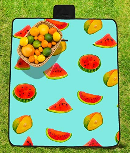 GaoMiTA Outdoor Picnic mat Waterproof and moistureproof Picnic mat Folding Travel mat Outdoor Beach mat by GaoMiTA (Image #1)
