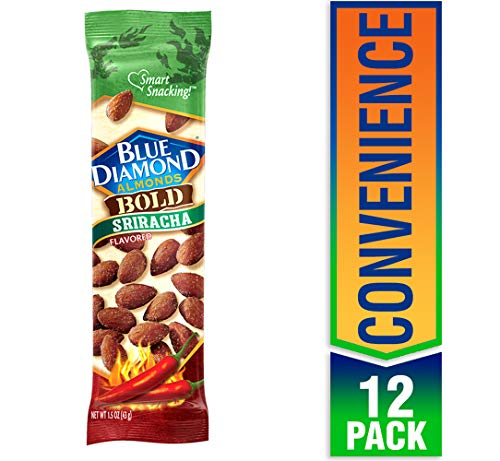 (Blue Diamond Almonds, Bold Sriracha, 1.5 Ounce (Pack of 12) )