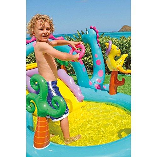 "51mFsShfOfL - Intex Dinoland Inflatable Play Center, 131"" X 90"" X 44"", for Ages 2+"