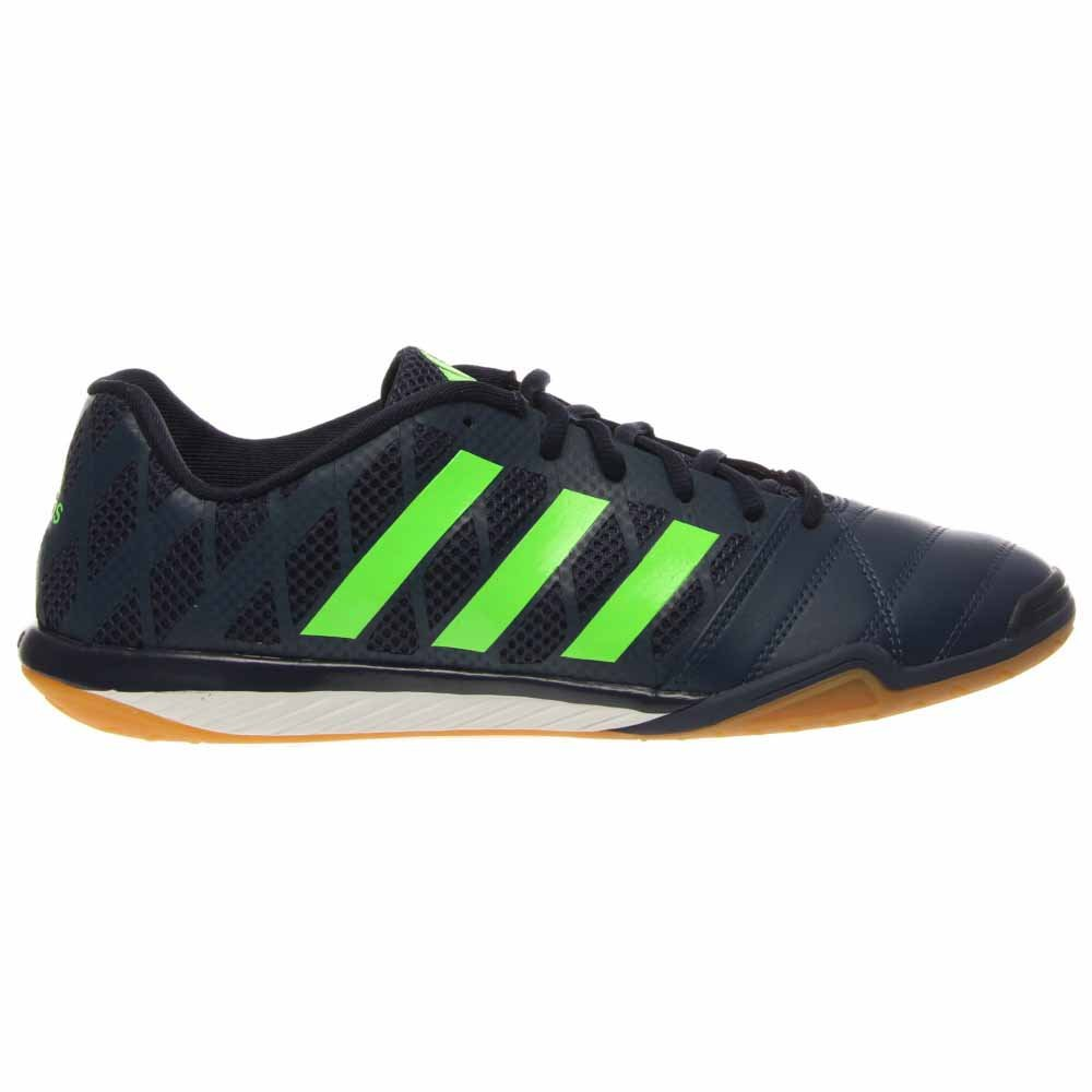 Adidas freefootball Topsala Indoor Soccer Shoes Hunt Pack (White, Glow)