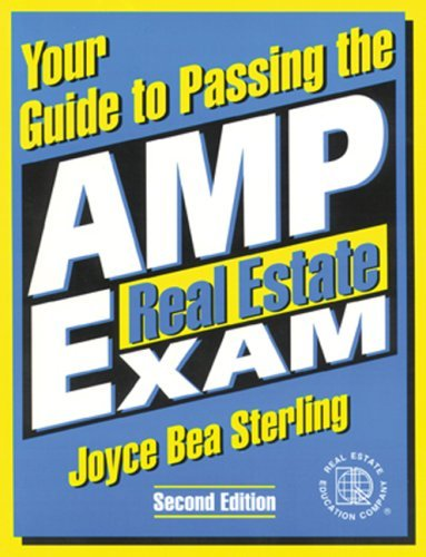 Your Guide to Passing the AMP Real Estate Exam, Version 3.0 by Sterling Joyce Bea (2003-06-12) CD-ROM