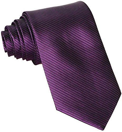 Classic Woven Men's Ties Neckties for Wedding Christmas Party Dress Plum (Purple Mens Tie)