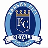 "11X13"" Kansas City Royals MLB Wood Street Sign"