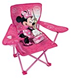 Fun House 712907 Disney Minnie Folding Camping Chair for Children