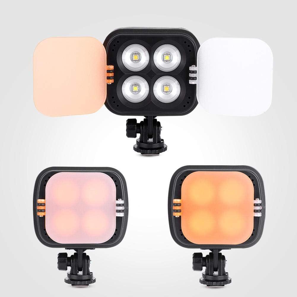 01 Bicaquu Zifon ZF3000 LED Camera Viedo Lights DSLR Fill Lights with Universal Cold Shoe Mount