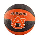 Logo Brands NCAA Auburn Tigers Mini Size Rubber Basketball, Brown