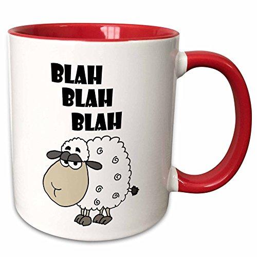 3dRose 254017_5 Funny Sheep says...