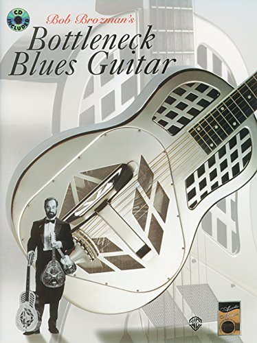 Slide Guitar Standard Tuning - Acoustic Masters: Bob Brozman's Bottleneck Blues Guitar, Book & CD (Acoustic Masters Series)