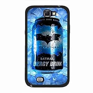 Flame Batman Funda, Samsung Galaxy Note 2 Funda Generic Cover