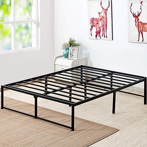 (VECELO 14 Inch Platform Bed Frame/Mattress Foundation/No Box Spring Needed/Steel Slat Support (Full)