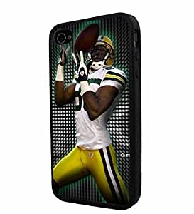 diy zhengNFL Green Bay Packers Greg Jennings, Cool iphone 5/5s/ Smartphone Case Cover Collector iphone TPU Rubber Case Black