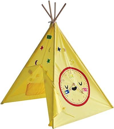 Mogicry Algodón Tienda de campaña para niños Casa de Juegos para el hogar Casa de Dibujos