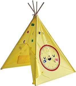 Mogicry Algodón Tienda de campaña para niños Casa de Juegos para el hogar Casa de Dibujos Animados de Indios tipicos Casa de Juguete Casa de Regalo de cumpleaños para bebés Rincón de