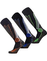 High Performance Wool Ski Socks – Outdoor Wool Skiing Socks, Snowboard Socks