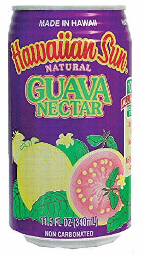 Hawaiian Sun Nectar, Guava, 11.5-Ounce (Pack of 24) ()