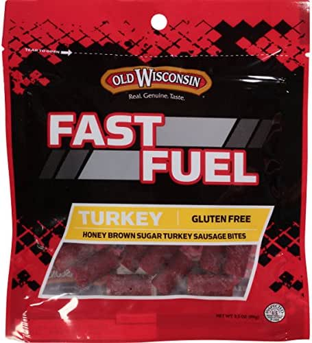Jerky & Dried Meats: Old Wisconsin Fast Fuel Bites