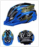 Cheap Bormart Cycling Bike Helmet,Lightweight Adult Bike Helmet with Removable Visor Specialized for Men Women Mountain Bicycle Road Safety Protection (black+blue)