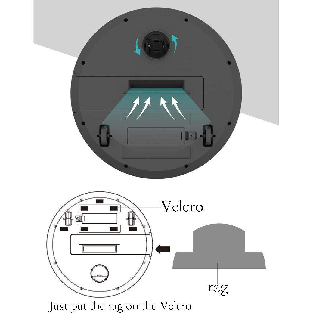 Kloius Robot Aspirador USB Recargable Barredora Inteligente ...
