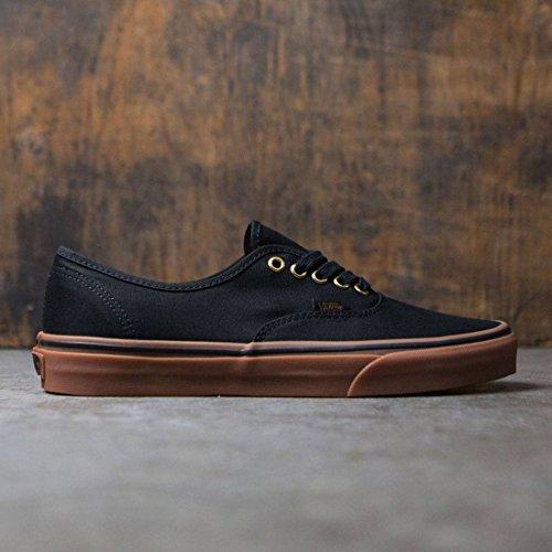 13b34b9a55 Vans Unisex Authentic Black Rubber Skate Shoe 6 Men US   7.5 Women US - Buy  Online in Oman.