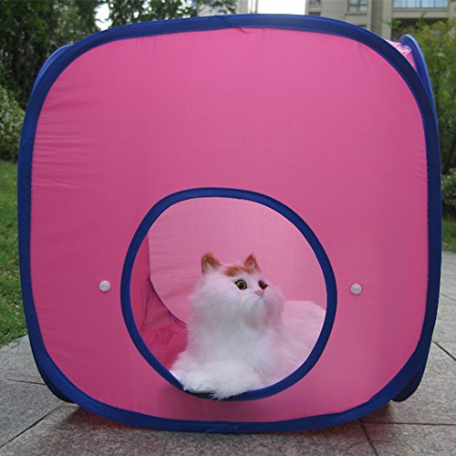Various Combinations Kitten Cat Pet Dog Tent Toy Cat Cube Cat Outdoor Tent Cat Cube with Tunnel (1Cube) For Sale