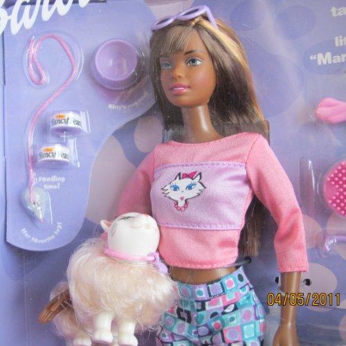 Kitty Fun Barbie Doll Aa W Kitty Cat Carrier