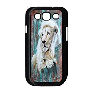 High quality animal Lion-The king of the forest series protective case cover For Samsung Galaxy S3 H0U94-A3072