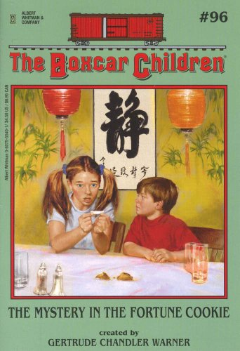 Mystery of the Fortune Cookie (Library Edition) (Boxcar Children (Audio)) - Book #96 of the Boxcar Children