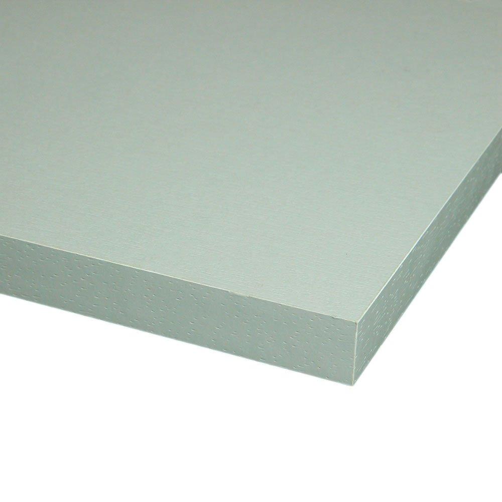 4 Seiten umleimt M/öbelbauplatte Regalbrett Grau 800 x 500 x 16 mm