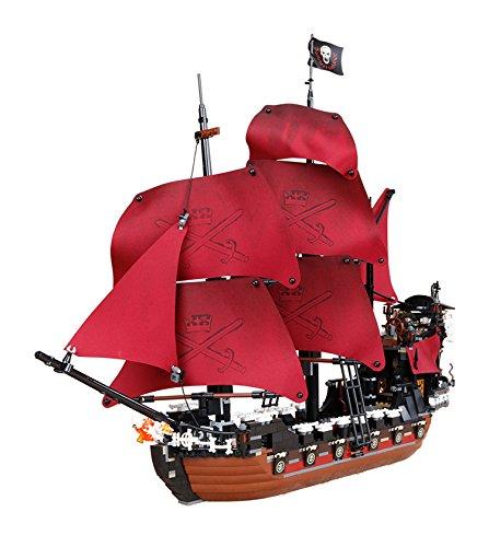 New LEPIN 16009 1151pcs Queen Anne's revenge Pirates of the Caribbean Building Blocks Set Bricks Compatible 4195