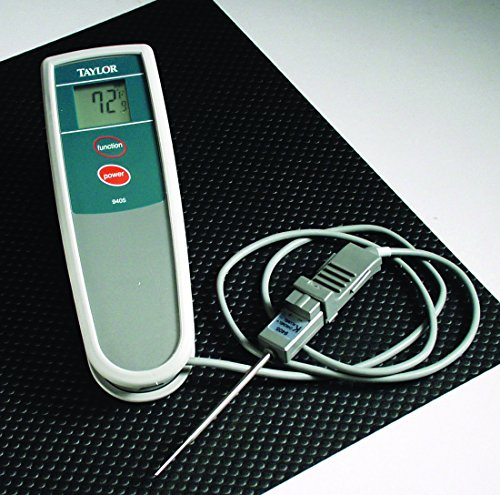 (Taylor Precision Products Waterproof Type-K Thermocouple Thermometer)
