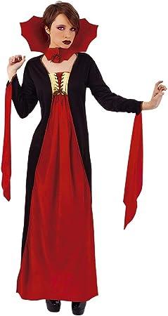 Haunted House- Vampiro Disfraz Vampiresa Gótica Roja Ad (Rubies ...