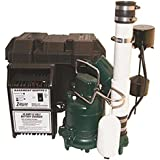 Zoeller 507-0008 Pre-assembled Sump Pump with Battery Backup and M53 Pump